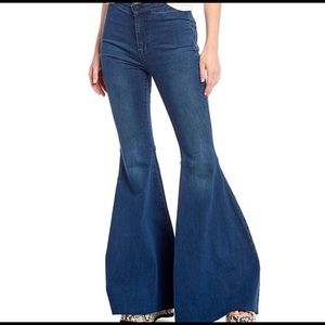 Free People Just Float On Flare Jeans 24